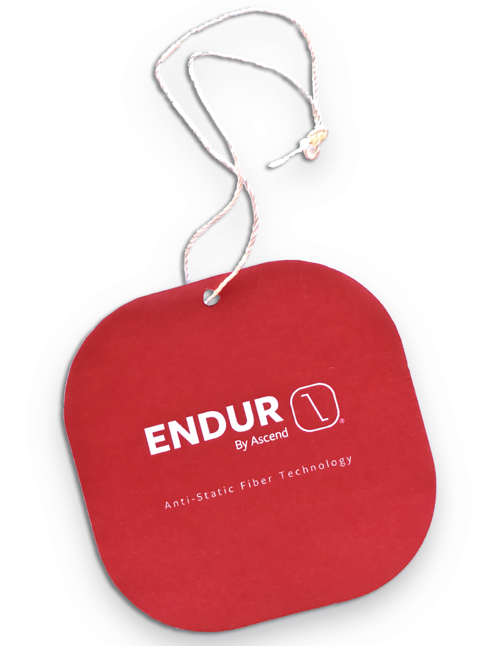 ENDUR isn't a garment treatment or a coating. It's a fiber.