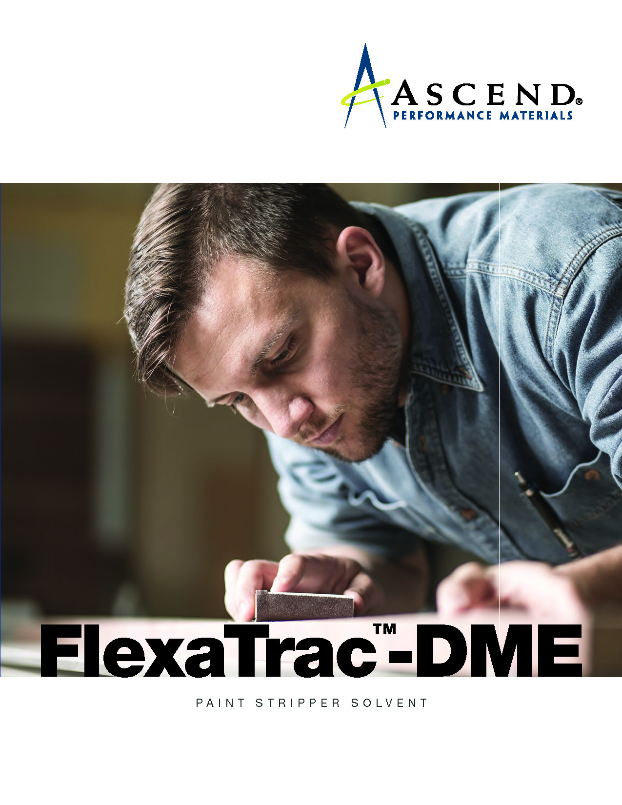 FlexaTrac®-DME paint stripper solvent